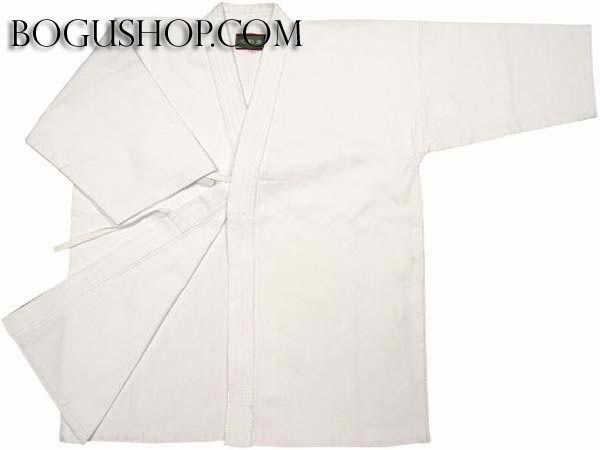 Single layered Keikogi with no pattern (White)