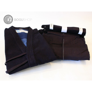 Premium Keikogi and Hakama Combination Set (Double Layer Gi & #10000 Hakama)