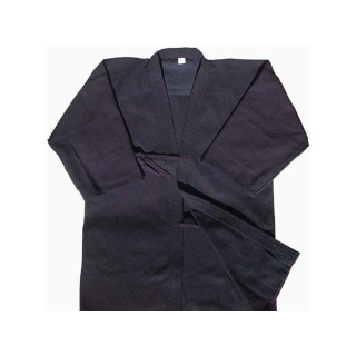 Single layered Keikogi with no pattern (Blue)