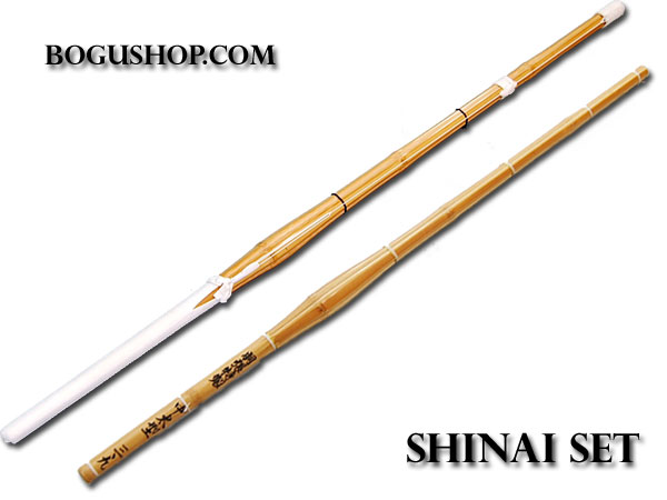 Shinai Combination (1 w/leather 1 w/o leather)